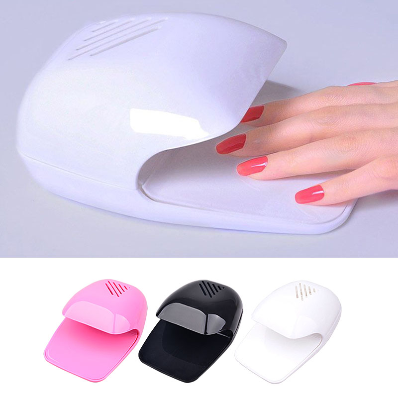 New Nail Polish Dryer Fan Mini Portable Nail Art Drying Polish Blow ...