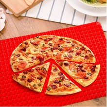 BBQ Heat Resistant Silicone Baking Turkey Chicken Wing Pyramid Silicone Sheet Roasting Mat Pads Mould Cooking Oven Tray Tool