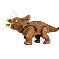 ילדים צעצועי סימולציה מודל חיות הליכה גודל גדול ביצת דינוזאורים חשמליים ילד צעצוע רובוט עם קול אור טירנוזאורוס