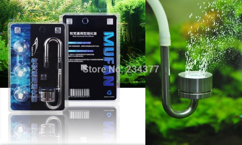 edelstahl co2 diffuser atomizer mini nano aquarium. Black Bedroom Furniture Sets. Home Design Ideas