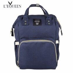 Brand Designer Fashion Mummy Maternity Nappy Bag Large Capacity Baby Diaper Bag Travel Backpack Nursing Bag for Baby Care