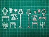 Furniture Metal Die Cutting Scrapbooking Embossing Dies Cut Stencils Decorative Cards DIY Album Card Paper Card