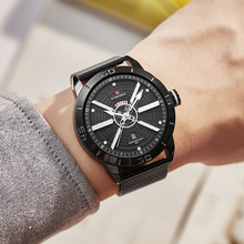 Mens Business Affairs Electroplate Luxurious Quartz Wristwatch