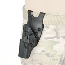 PPT gran oferta táctica militar TAN Color negro y mano izquierda G17 funda para caza tiro GZ7-0094