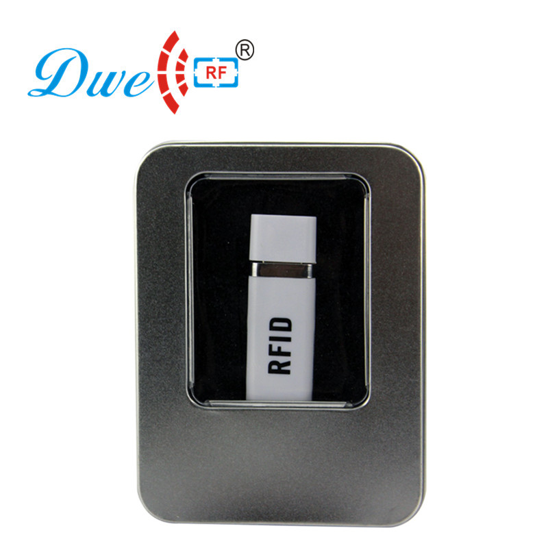 DWE CC RF ISO 14443A rfid access control nfc reader usb adroid with one OTG cable free of charge reader 10 digits dec dwe cc rf 2017 hot sell 13 56mhz 12v wg 26 rfid outdoor tag reader for security access control system