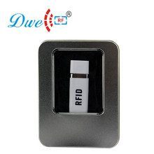 hot deal buy dwe cc rf iso 14443a rfid access control nfc reader usb adroid with one otg cable free of charge reader 10 digits dec