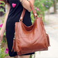 Retail Wholesale Mama Bag 2016 New Casual Women Handbags Shoulder Bag Hobos Bag Cow Leather Women Messenger Bags 2 colors