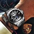 Relogio Masculino BINGER Neue Sport Herren Uhren Top Brand Luxus Voller Stahl Automatische mechanische Uhr Wasserdichte Uhr Männer 2019