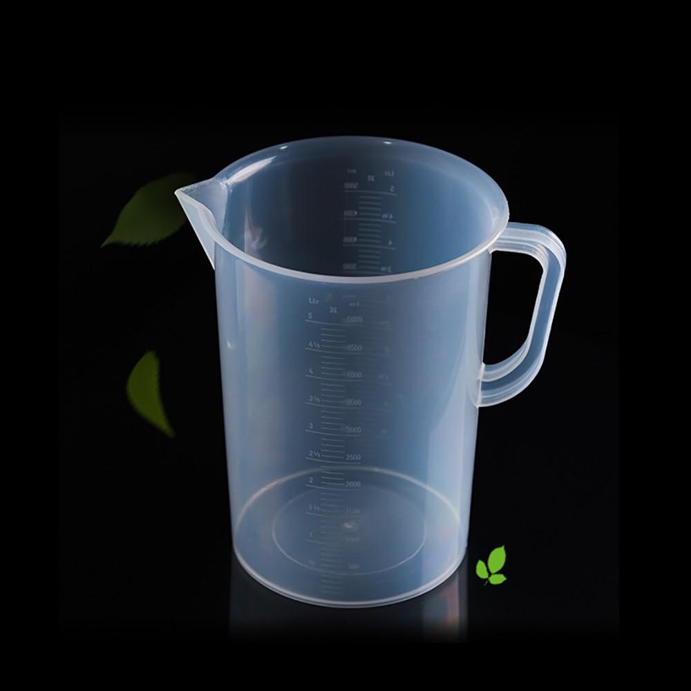 Plastic Measuring Cup Liquid 1000/2000/3000/5000ML Hydroponics Cooking High Transparency Easy Convenient Measurement