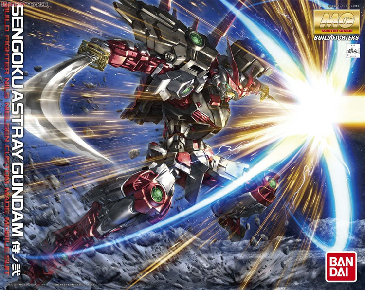 Bandai Gundam MG 1 100 Sengoku Astray Mobile Suit Assemble Model Kits Action Figures Plastic Model