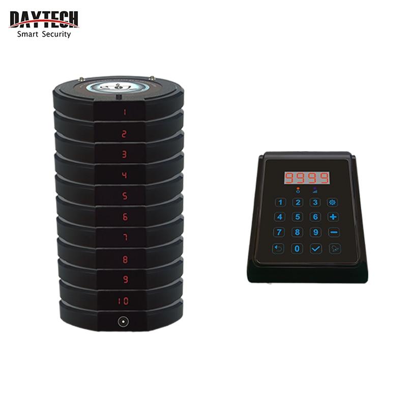 DAYTECH bouton d'appel sans fil système d'appel restaurant caboteur téléavertisseur serveur Service d'appel Pagering transmetteur Buzzers