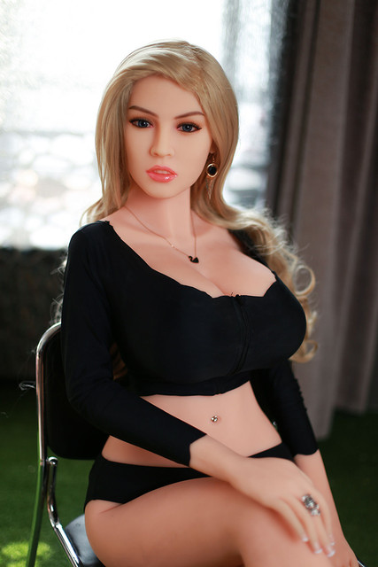 170cm #38 Europe women Love doll Dental teeth Vaginal and anal Full TPE with Skeleton sex doll