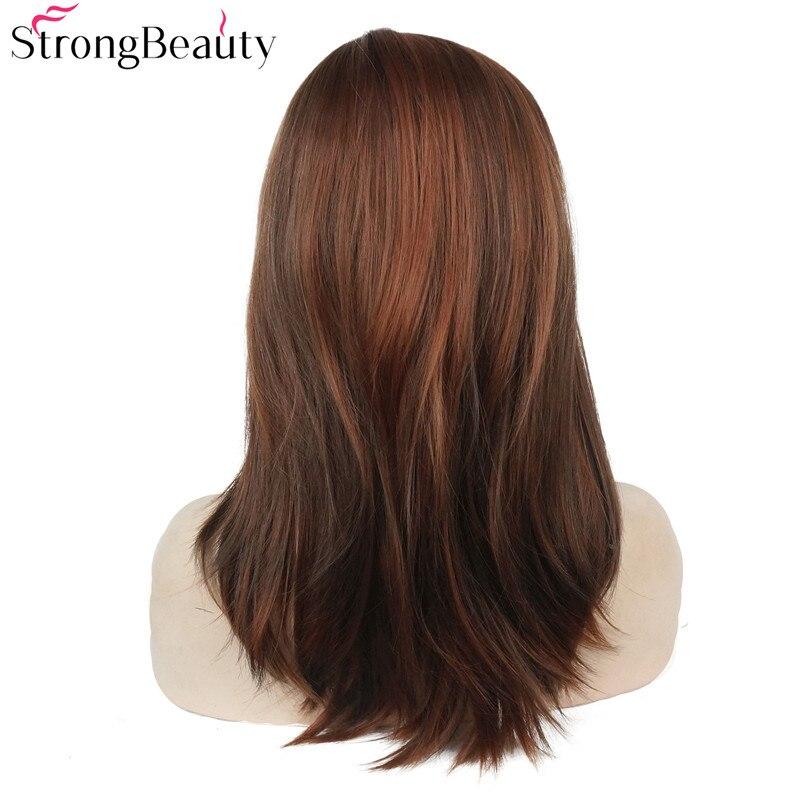 Ισχυρή ομορφιά Συνθετική Long Straight - Συνθετικά μαλλιά - Φωτογραφία 5