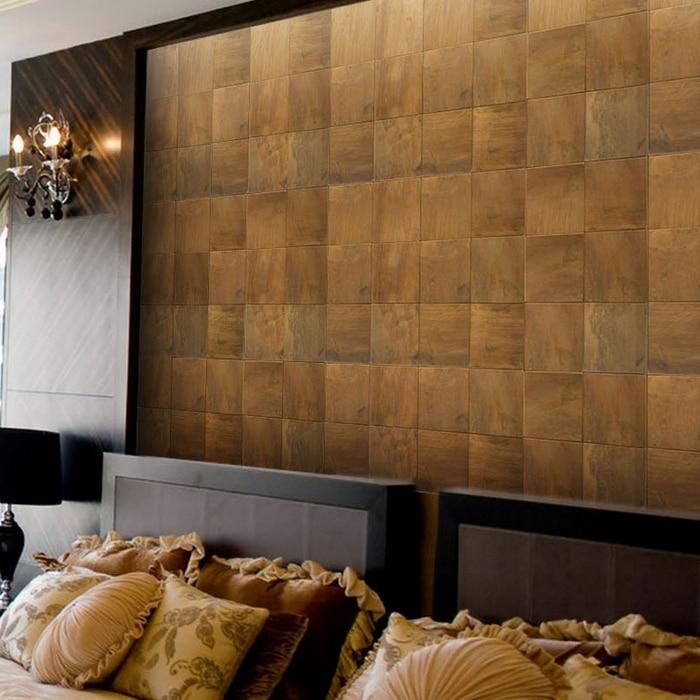 100x100mm bronze brass backsplash metal mosaic tile for 12x12 bedroom