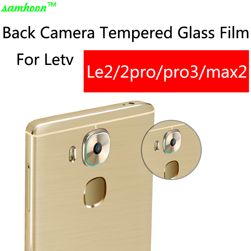 2pcs for LETV LEECO Le Max 2 X820 X829 Glass Back Camera Screen Protector for Le 2 X620 pro3 Clear Back Camera Protective Film