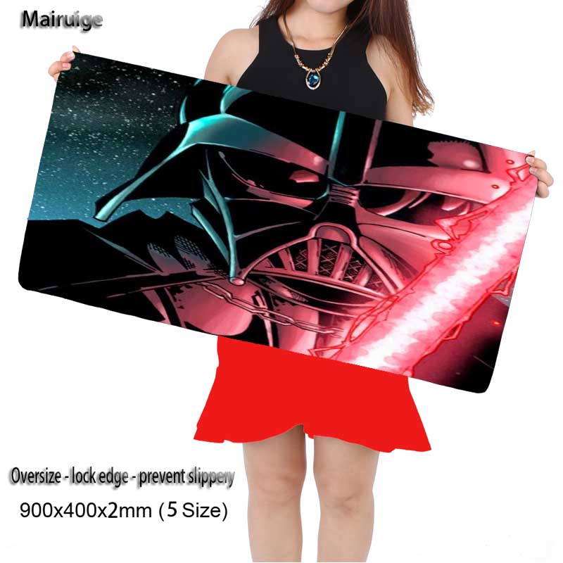 Mairuige Star Wars Cool Darth Vader Computer Laptop Mice Mat Optical Speed Play Mats Sof ...