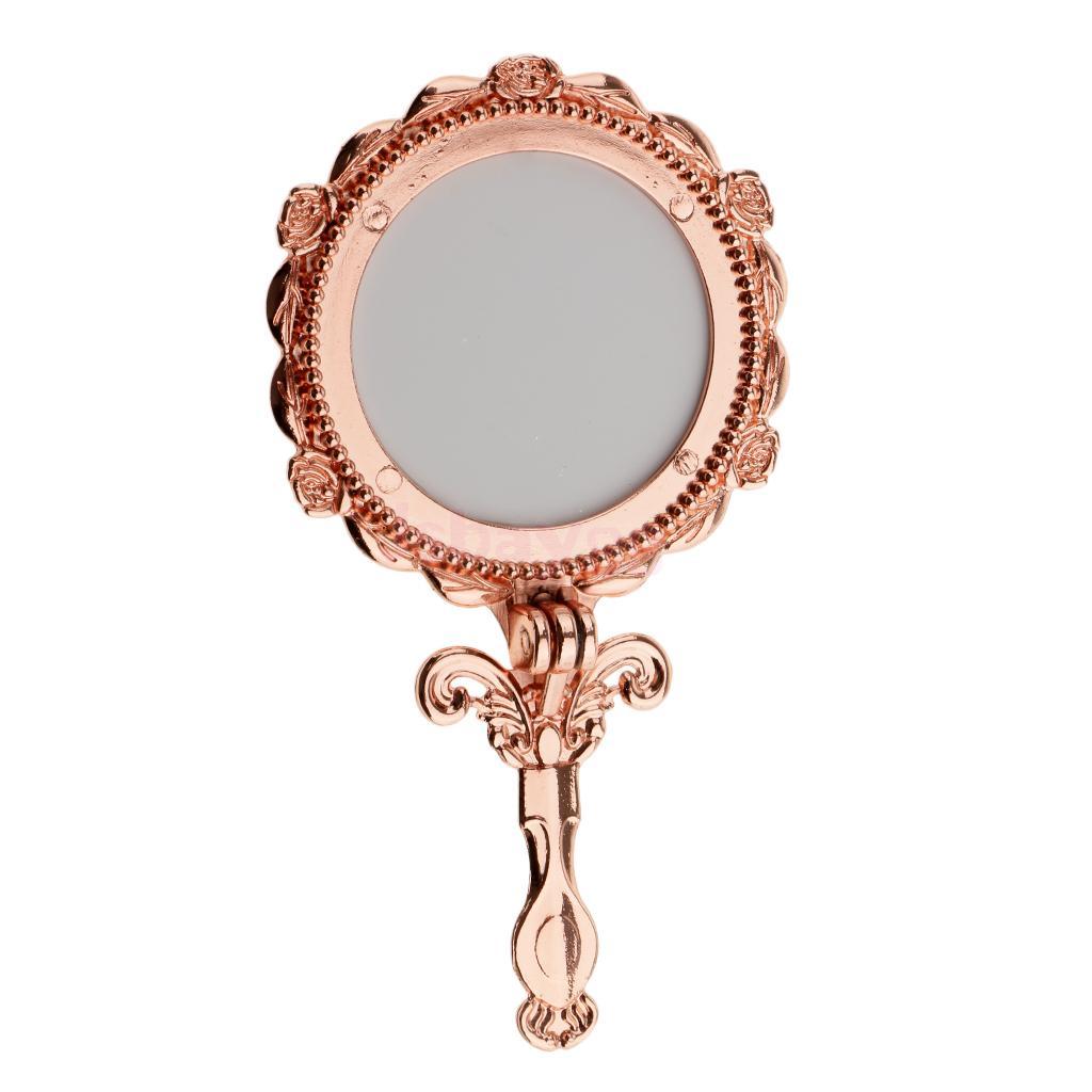 Handheld Mirror Cosmetic Folding Makeup