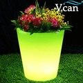 Супер яркий красивый светодиодный цветочный горшок с подсветкой для вечеринки свадьбы VC-F3040