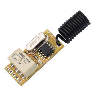 Kebidu реле беспроводной переключатель пульт дистанционного управления регулируемый микро приемник питания Светодиодная лампа контроллер мгновенный тумблер с защелкой новейший