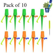 10pcs New Watering Kits Self Automatic Plant Watering Spikes Adjustable Stakes Irrigation System Watering Device for Houseplant