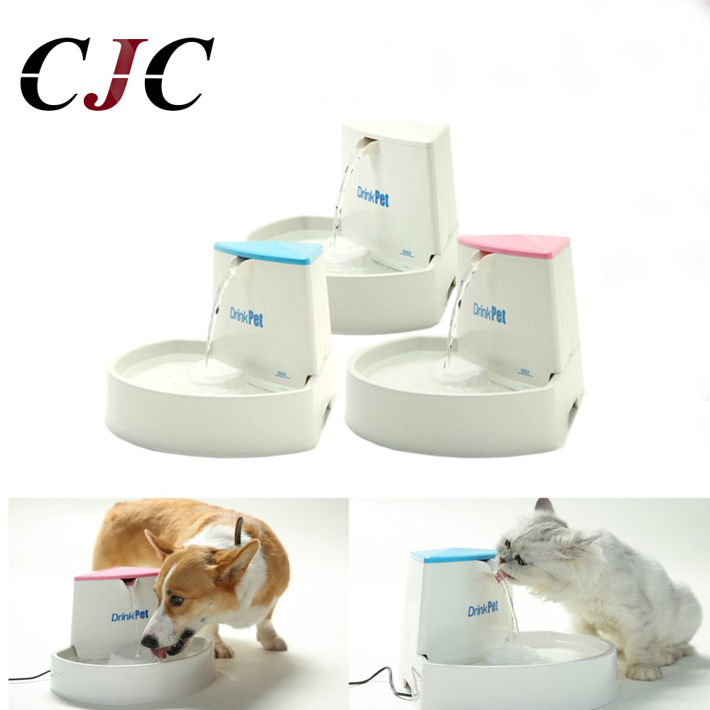 2.5L Dog Cat Water Fountain Pet Automatic Water Feeder Pet Water Fountain Automatic Pet Feeder Automatic Feeders For Dogs 1 6l flower style cat automatic pet feeder pet water feeder pet fountain electric dog drinker bowl cat water dispenser