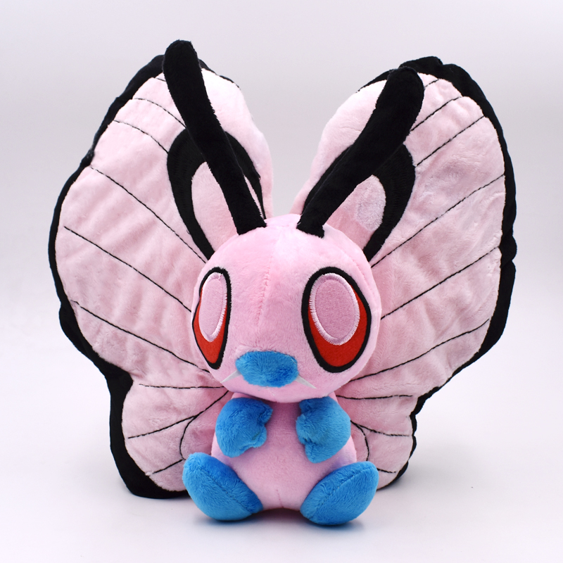 Pink Butterfree Plush Dolls Toys 12
