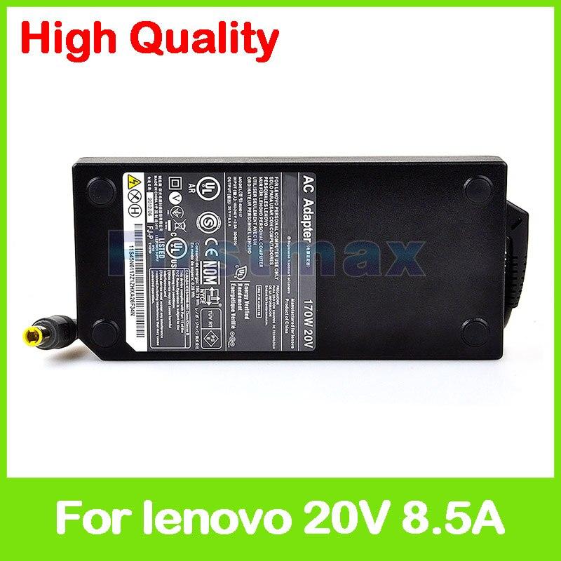 20 V 8.5A 170 ordinateur portable ac adaptateur chargeur pour Lenovo ThinkPad W520 W530 45N0111 45N0112 45N0113 45N0114 45N0115 45N0116 45N0117