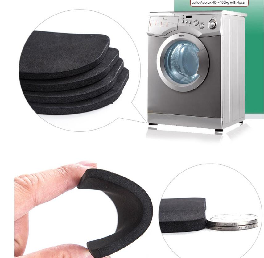 Sets 4pcs Stand For A Washing Machine Shock Pads Anti-vibration Pad For Washing Machine Non-slip Mats Refrigerator Multifunctional Fashionable And Attractive Packages Beauty & Health
