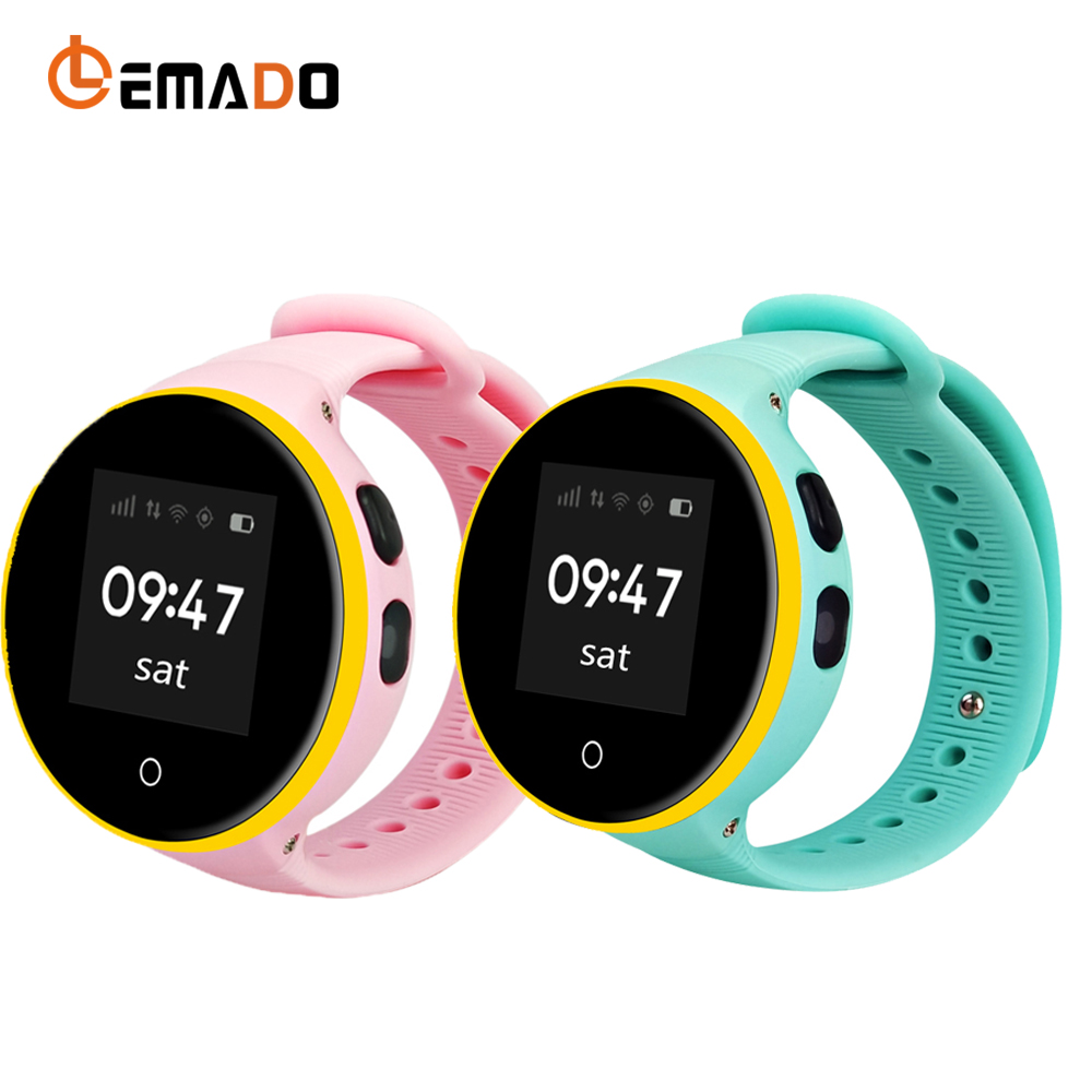 Lemado S669 Children Smart Watch GPS Location Tracker Anti Lost Reminder Baby Monitor Clock 1.22''Screen Kids relogio Smartwatch smart baby watch g72 умные детские часы с gps розовые