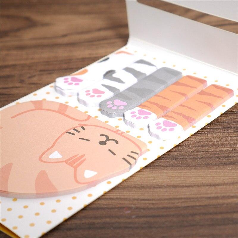 Dier Kat Panda Leuke Kawaii Memoblaadjes Post-it Memo Pad - Notitieblokken en schrijfblokken bedrukken - Foto 2