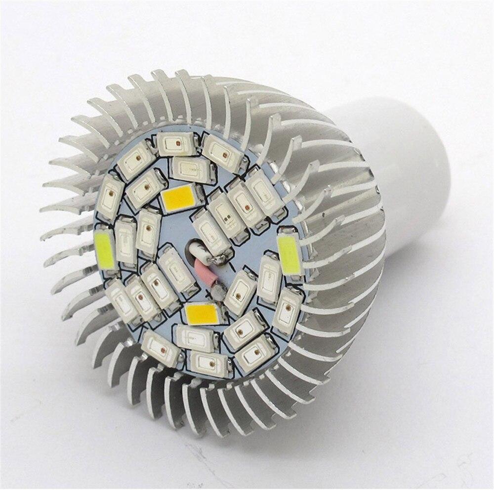 8W 28 LED Grow Light Veg Flower Indoor Plant Hydroponics Full Spectrum Lamp