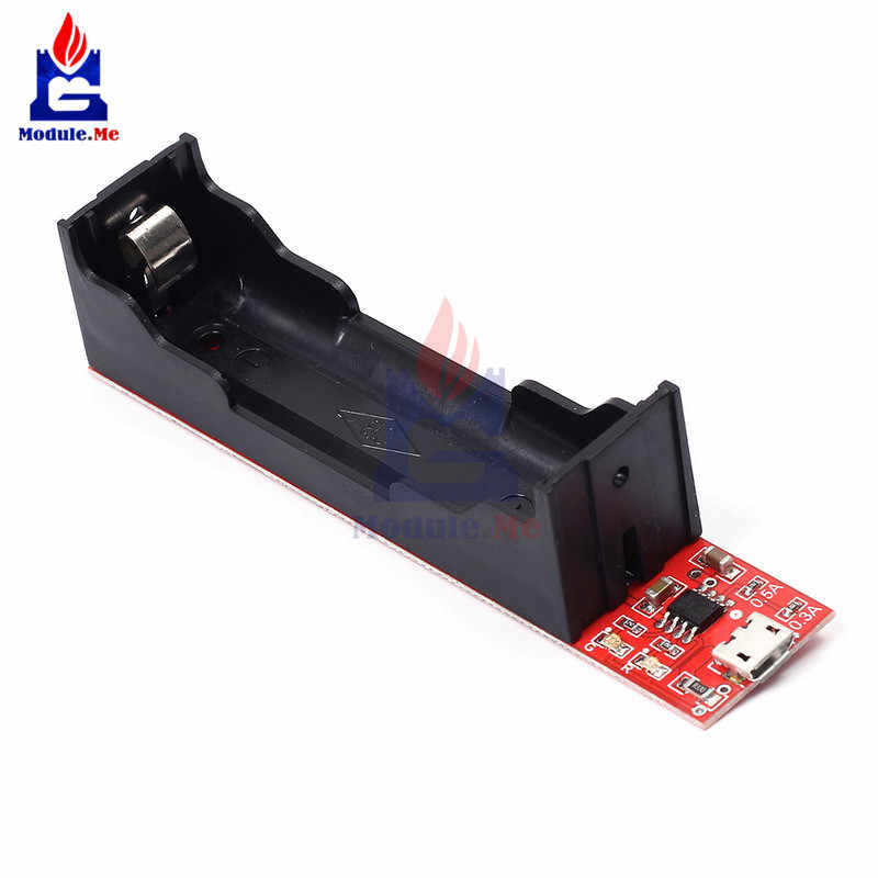 TEC4056 18650 Li-on Lithium Battery Charger Module 4.2V 0.8A 0.5A 0.3A 18650 Lithium Non-Protection Board Module