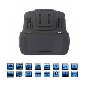 Image 2 - Ambarella a7la50 3 em 1 gps carro dvr câmera do carro anti radar carro detector traço cam gravador de vídeo 1296p speedcam hd 1080p strelka