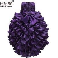 Cô gái công chúa Áo trẻ em Quần Áo Wedding Party Dress Toddler Cô Gái Formal Bóng Gown Trẻ Sơ Sinh Trẻ Em Giáng Sinh Trang Phục cô gái clo