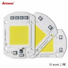 Matrice LED intelligente ad alta potenza IC per proiettori 20W 30W 50W 110V 220V luce di inondazione fai da te COB LED Diode faretto lampada a Chip per esterni