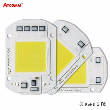 Smart Ic High Power Led Matrix Voor Projectoren 20W 30W 50W 110V 220V Diy Flood licht Cob Led Diode Spotlight Outdoor Chip Lamp(China)