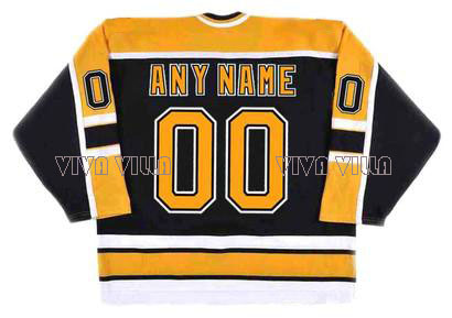 Ice Hockey Jersey Custom Any Name Any Number High Quality Stitched Logos Throwback Hockey Jersey S-4XL