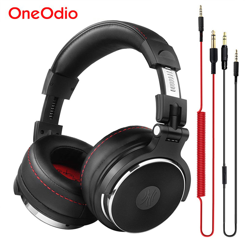 Oneodio Wired Headphones Studio Professional DJ Headphone with Microphone Over Ear Monitor Studio Headphones DJ Stereo Headsets|headphones with microphone|headphones overdj headphone - AliExpress