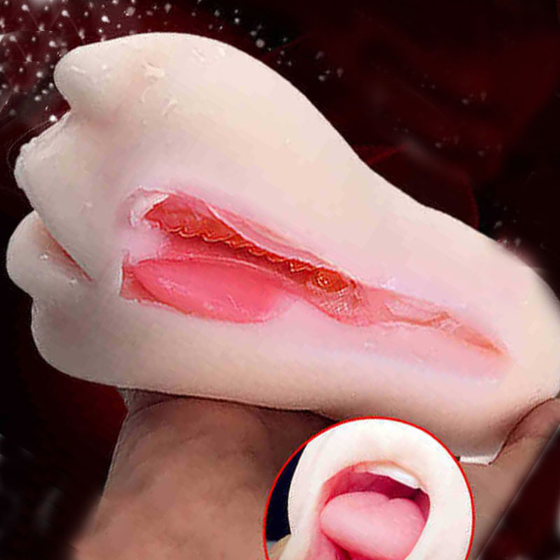 Vagina real Pussy Sex toys for Men Oral sex Male Masturbator Blow Job Vagina Pussy Adult artificial vagina Sex Products image