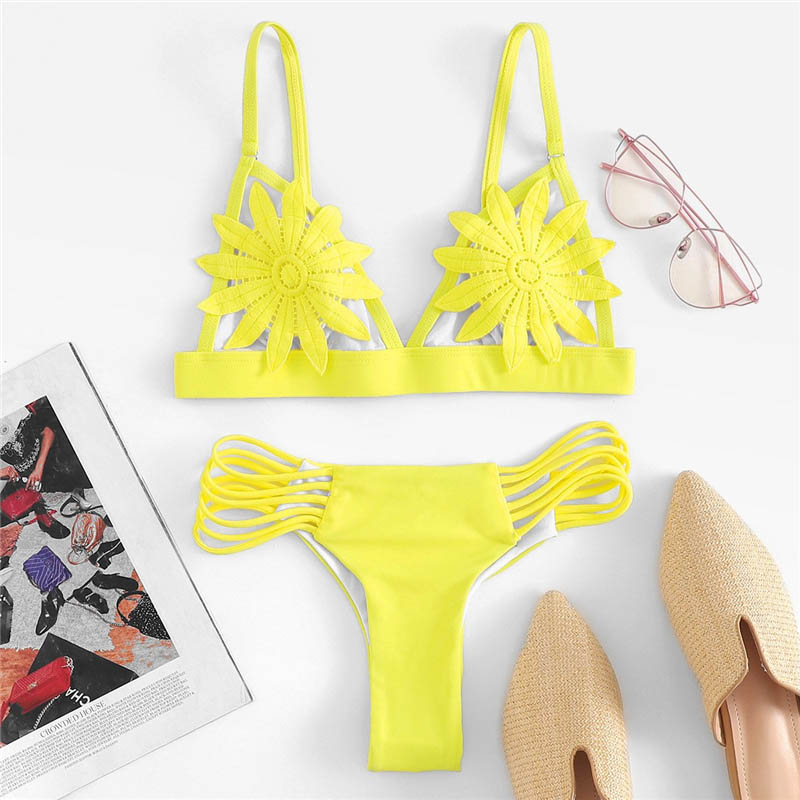 Appliques Bikini Set 6