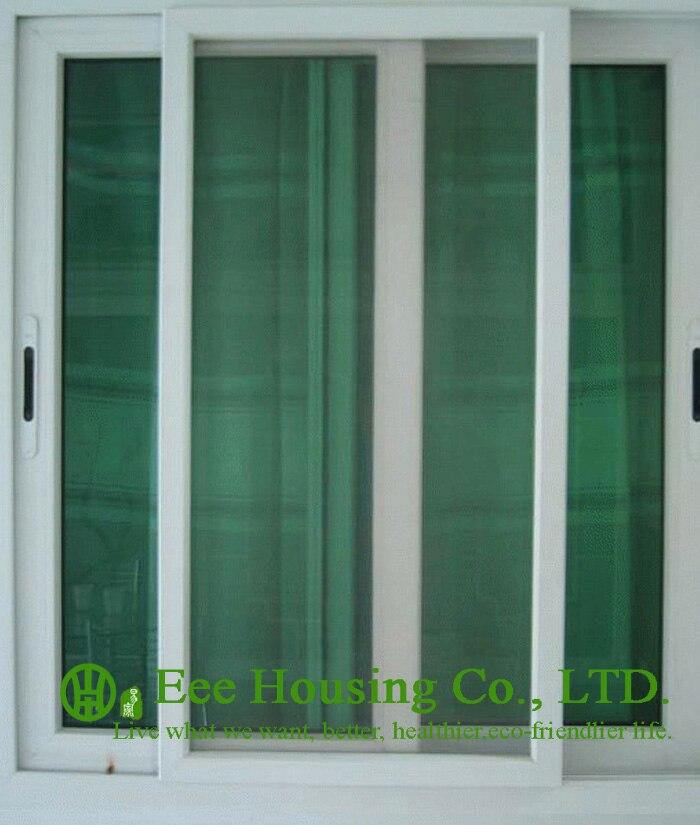 Aluminum Glass Sliding Window With Insect Screen,aluminum Profile Sliding Windows With Grilled Design,horizontal Sliding Windows