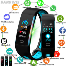 LIGE Sport Bracelet Men Heart rate Blood Pressure Fitness tracke Pedometer Clock Women Waterproof Smart Watch For IOS Android