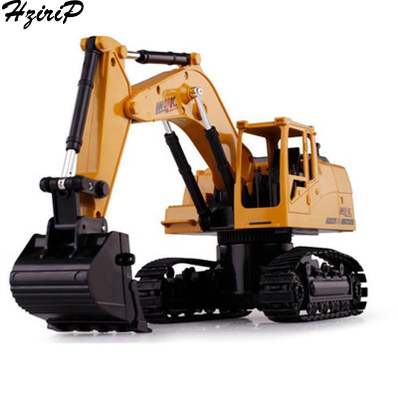 HziriP New Kids Toys Toy Cars Large Remote Control Charging Excavator Puzzle Toy Wireless Cars Model Gifts for Boys Children
