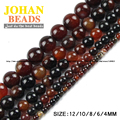 Dream agate beads Natural agate Stone Top quality Round Loose beads ball 4/6/8/10/12MM handmade Jewelry bracelet making DIY new