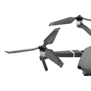 Image 4 - 8 pièces 8743F hélice en Fiber de carbone pour DJI Mavic 2 Pro Zoom Drone 3 lames accessoires de lame pliants pour Mavic 2 pièces de rechange