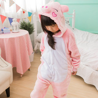 Photography Kid Boys Girls Party GIFT Clothes Pijamas Flannel Pajamas Child Pyjamas Hooded Sleepwear Cartoon Animal