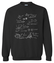 Super geek TBBT-inspired Math Formulas hoodie / 6 colors