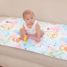 60*90CM Baby changing mat waterproof cotton baby infant changing mat portable urine mat baby changing nappy cover pad 3 layers