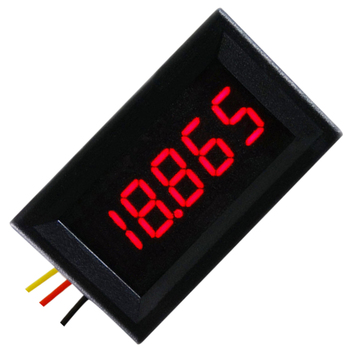 RD 0,36 дюймов DC0-33V 3 провода цифровой вольтметр 5 бит дисплей красный