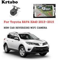 Car wireless rear camera For Toyota RAV4 XA40 2013~2015 car Night Vision HD camera CCD night vision waterproof high qualit
